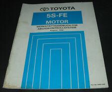 Werkstatthandbuch Toyota Camry Typ SXV20 5S-FE Motor Abgaskontrollsystem 08/1996