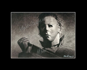 Michael Myers halloween horror character drawing fro artist image ...