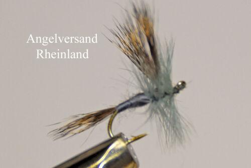 3 Grey Wulff Hakengröße #12-18 wählbar by Angelversand Rheinland