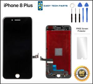 Negro-Iphone-8-Plus-Ensamblaje-Oem-LCD-Digitalizador-3d-Pantalla-Tactil-Recambio
