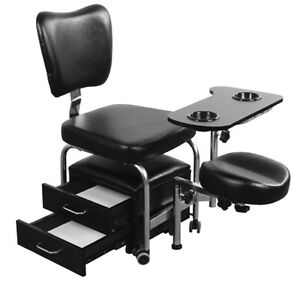 Manicure pedicure nail station salon chair beauty table for Nail table and chairs