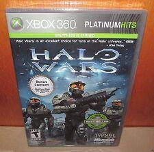 BRAND NEW SEALED Halo Wars Platinum Hits XBOX 360 Bonus Maps Gameplay Modes