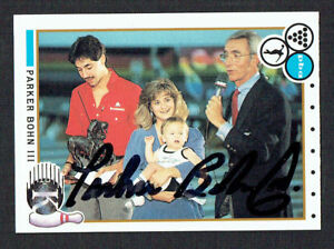 Parker-Bohn-III-87-signed-autograph-auto-1990-Kingpins-PBA-Bowling-Trading-Card