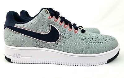 Nike Air Force 1 Low Ultra Flyknit Sz 10 New England