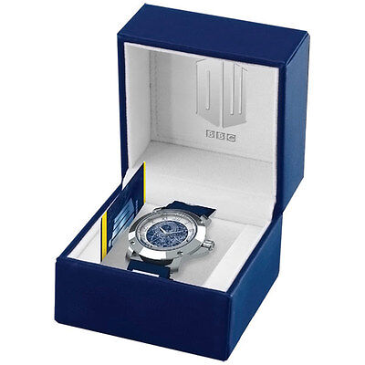 *NEW IN BOX* Dr Doctor Who Official BBC Limited Edition TARDIS Collector's Watch