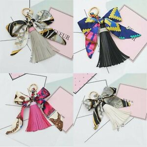 Keychain-Leather-Ring-Car-Women-Metal-Charm-Tassel-Handbag-Pendant-Bag-Key-Chain