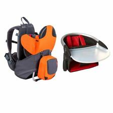 Phil & teds Parade Carrier Backpack Orange w/Free Phil&teds Lobster High Chair