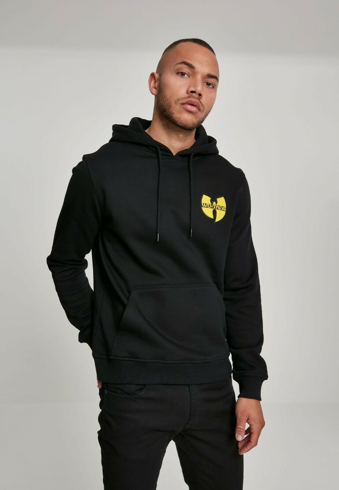 Wu-Wear Chest Logo Hoody WU029 Oldschool Hip Hop Rap 90s Kapuzenpullover