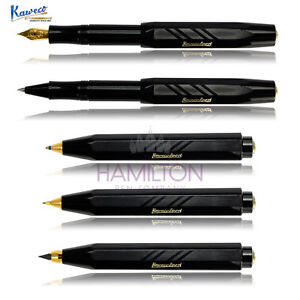 KAWECO-CLASSIC-SPORT-GUILLOCHE-Full-range-of-writing-systems-in-gloss-black