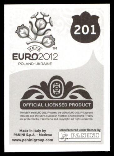 Anders Lindegaard Denmark No Panini Euro 2012 201
