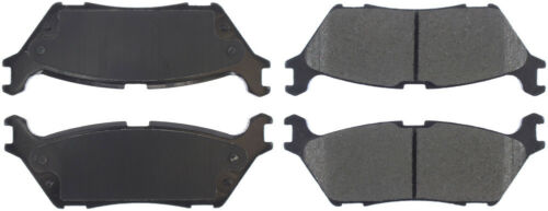 Disc Brake Pad Set-Premium Ceramic Pads w//Shims /& Hardware Rear Centric