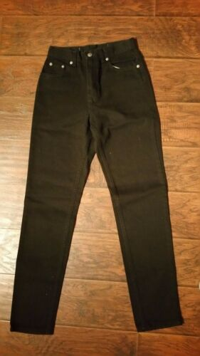 The Gap Size 4 Slim Fit Regular Black Denim Jeans NWOT