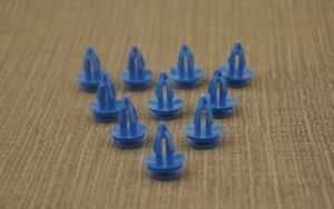 MG Metal splash guard interior molding trim fastening rivet clips