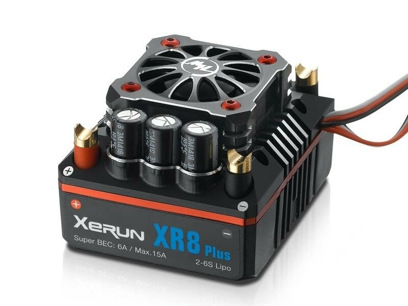 Hobbywing xr8 PLUS Brushless Regolatore 150a, 2-6s LiPo 6a BEC