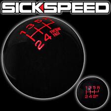 BLACK/RED FING FAST SHIFT KNOB 6 SPEED SHORT THROW SELECTOR UN2 KIT K47