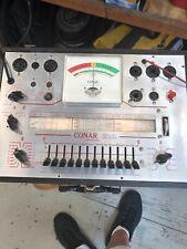 Conar Model 221 Portable Tube Tester Vintage National Radio Institute Nrl