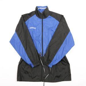 ec343b124 90s Vintage ADIDAS Rain Coat | Mens L | Retro Tracksuit Track ...