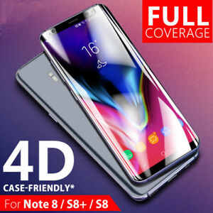 For-Samsung-Galaxy-S9-8-Plus-Note-8-Gehaertetem-Glas-Full-Cover-Screen-Protector