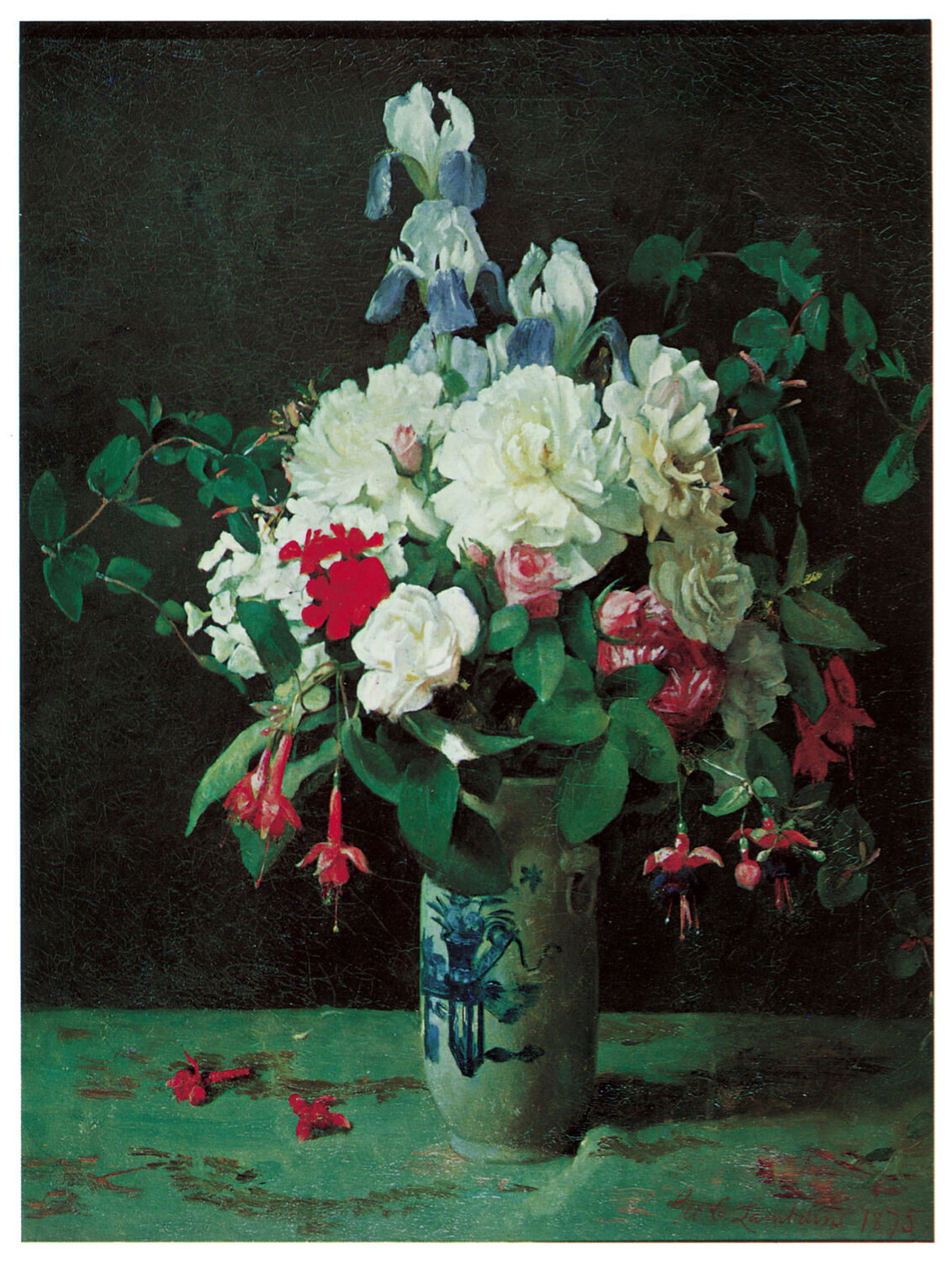 1227.Flower Still life Art Decoration POSTER.Graphics to decorate home office.