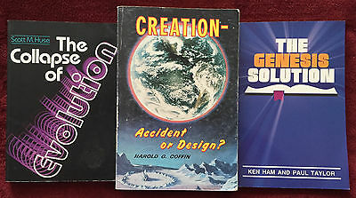 Bundle of 3 Books with 3 Perspectives: Genesis ~ Evolution ~ Creationism PB