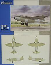 Heinkel He-178 V-1, Erster Düsenjet, 1/48, Special Hobby, Plastik , NEU