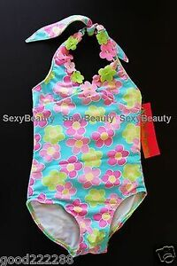 2e395b8d97055 New Kate Mack Girls/Toddler Floral One Piece Swimsuits/Tankini ...