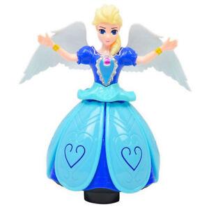 Blue-Dancing-Princess-Robot-Colorful-Lights-Wonderful-Music-Elsa-Doll-Kids-Toy