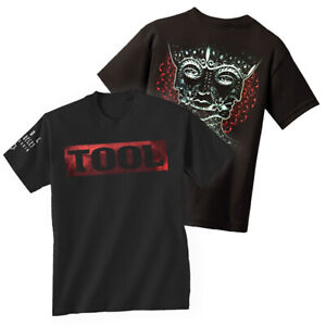 TOOL-T-Shirt-Band-Shaded-Box-Triple-Face-New-Authentic-OFFICIALLY-LICENSED-S-2XL