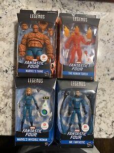 Marvel-Legends-Walgreens-Exclusive-Fantastic-Four-Lot-UNOPENED-RARE-NEW