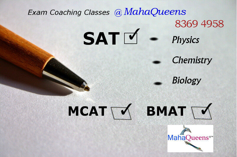 SAT Courses- General and Science Subjects (Phy, Chem & Bio