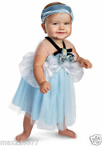 NEW-Infant-Cinderella-My-First-Disney-Costume-halloween-costume-12-18-Months