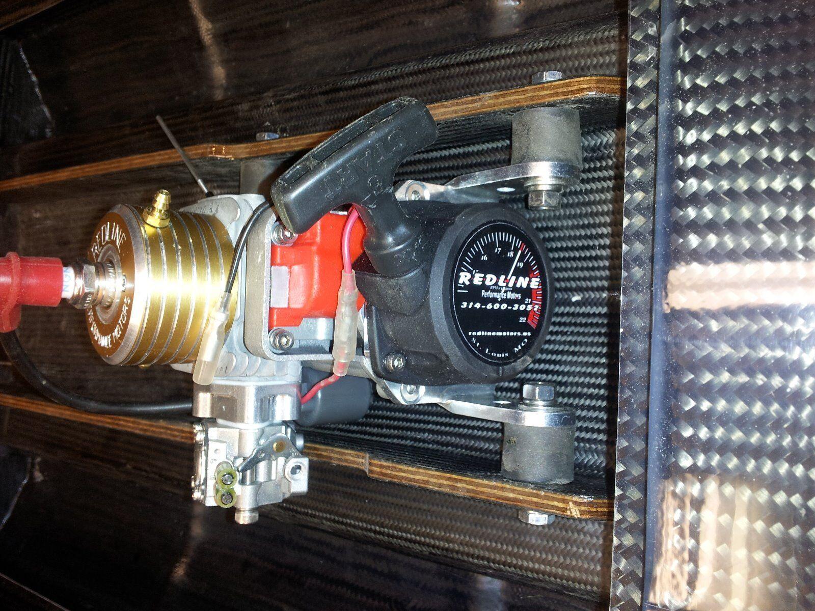 Zenoah Modified Engine 30.5cc PUM rossoline Performance Motors Nuovo