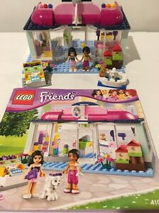 Lego Friends 41007 Heartlake Pet Salon W Instructions 100 Complete