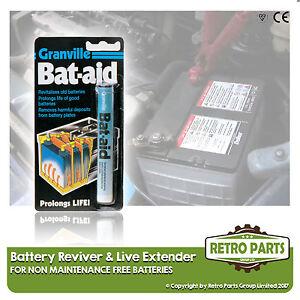 Car Battery Cell Reviver/Saver & Life Extender for Skoda Fabia.
