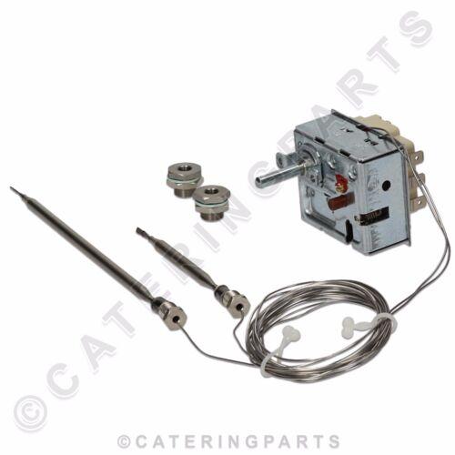 Ego 55.60035.010 double sonde HAUTE LIMITE /& Operating Thermostat pour UBERT Friteuse