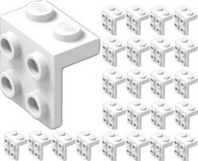 ☀️NEW LEGO 25x BLACK Angle Plate Bracket 1 x 2-2 x 2 BULK Parts Building lot