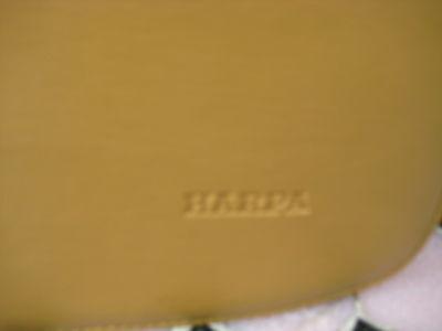 Tasche,hellbraun(cognac) mit passender Geldbörse, ca.18x28x9 cm ! Von HARPA !