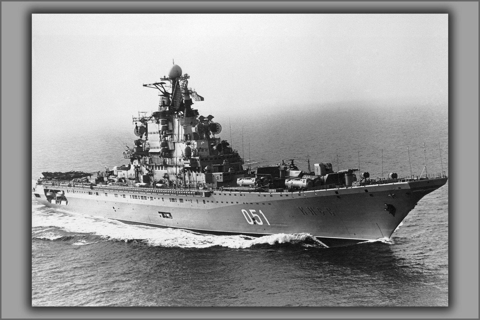 Poster, Many Größes; Soviet Aircraft Carrier Kiev (Cvhg 051)
