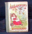 ALICE'S ADVENTURES IN WONDERLAND LEWIS CARROLL JOHN TENNIEL W B CONKEY VERY RARE