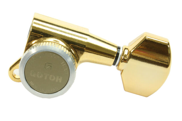 GOTOH SG381 MG-T Magnum Lock Traditional Locking Tuners Gold plated L6-inline