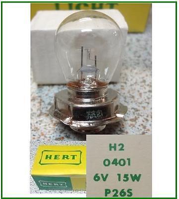 Vendita Calda Lampadina Piattello Monoluce -bulb Plate Mono-faro Head Freccia 6v 15w - P26s