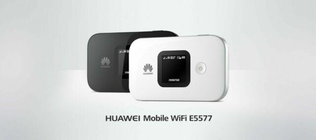 Pocket WiFi Modem Huawei E5577 Optus Branded LTE Prepaid SIM 14gb Data 4g