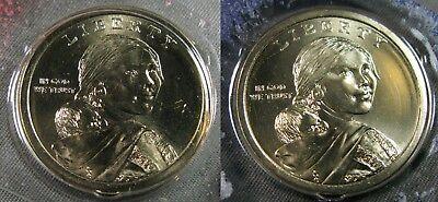 "2018 D Sacagawea Native American Dollar US Mint Coin /""BU/"" Jim Thorpe"