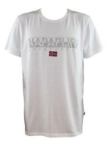 NAPAPIJRI-SAPRIOL-SS-1-Bright-White-T-Shirt