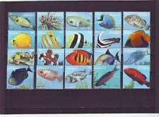 a130 - DOMINICA - SG2173-2192 MNH 1996 FISH DEFINITIVES - FULL SET 1c - $20