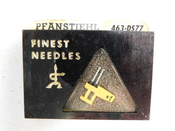 Discreet Nos Vintage Pfanstiehl Diamond Needle 463-ds77 Replaces Euphonics Dual Needle Goedkope Verkoop 50%