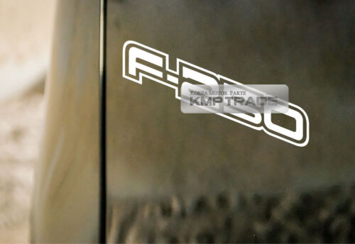 Bedside Graphics Vinyl F-250 Logo Decal Sticker 1EA For FORD 1999-2008 F-250