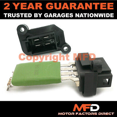 2004-2006 HEATER BLOWER FAN RESISTOR FORD TRANSIT MK6 2.4 TDCI DIESEL