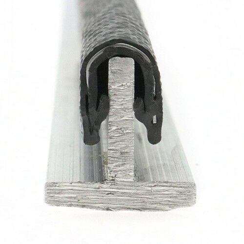 Panel Edging Trim 25m Reinforced Edging Strip,To Fit 6-8mm Panel Rubber Edging