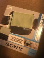 Sony Md-case4 Minidisc Walkman Atrac Armband Carry Case In Box Mini Disc
